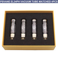 4PCS EL34 VACUUM TUBE Psvane EL34PH Philip Electronic Power tube VALVE Vintage AUDIO Amplifier DIY MATCHED HiFi 12months Warra