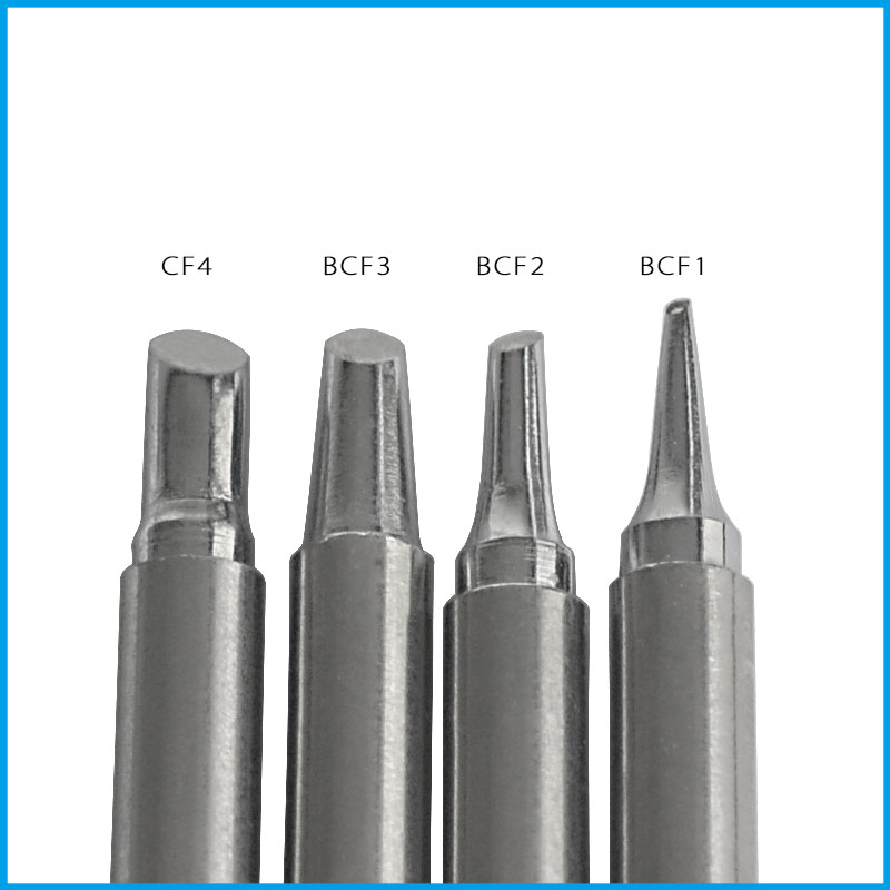 Gudhep Soldering tips T12-BCF1 BCF2 BCF3 CF4 Soldering Iron Tips for Hakko <font><b>FM203</b></font> Soldering Rework Station FM2027 Handle image
