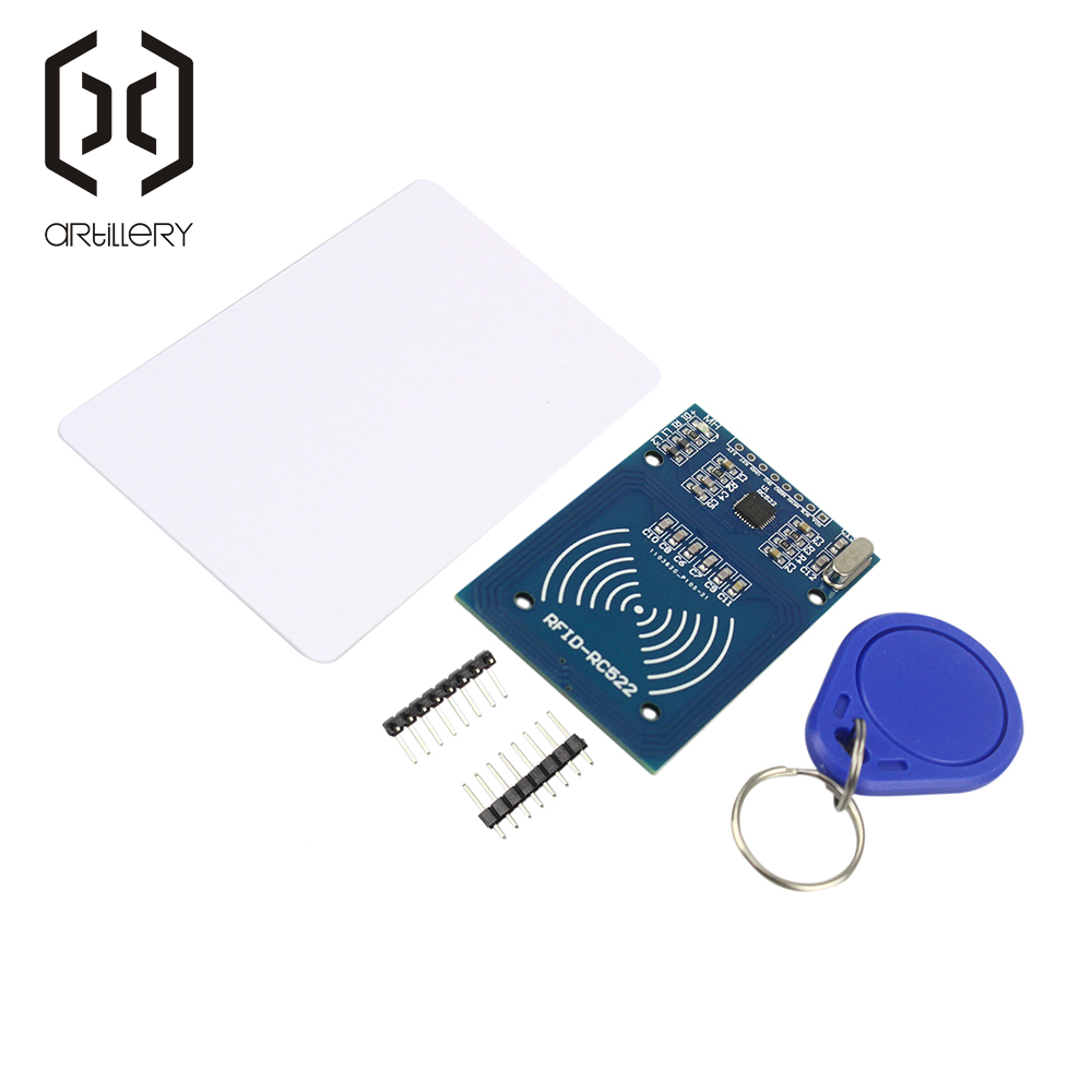 RFID Module RC522 Kits 13.56 <font><b>Mhz</b></font> 6cm with Tags SPI Write & Read for arduino Compatible with UNO MEGA 2560 image