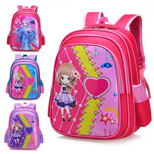 Nylon Children bags A Kids Bag Cartoon Bag Student Kindergarten Backpack Girls School Bags For Boys Schoolbag Mochila цена в Москве и Питере