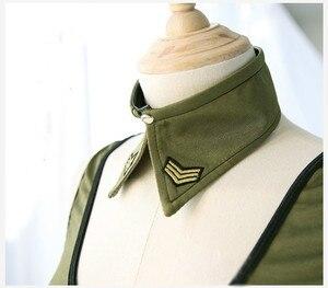 Image 5 - Nowa partia wojskowych instruktorów Cosplay jednolite modne dziewczęce żołnierz armii kostium Roleplay policjantka seksowna bielizna sukienka