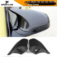 Carbon Mirror Cover for BMW M3 M4 F82 F83 F80 Replacement Rearview Side Mirror Cover Only Left Hand Drive