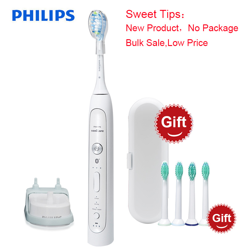 New for Philips Sonicare HX9120 FlexCare Platinum Bluetooth Connected Sonic Electric Toothbrush with App Smart Brushing Sensors image