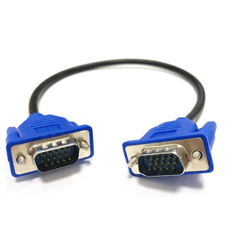 VGA кабель «Папа-папа» Специальное предложение; Низкая цена; Высокое качество Буле VGA кабель VGA/SVGA HDB15 Удлинительный кабель со штыревыми соеди...