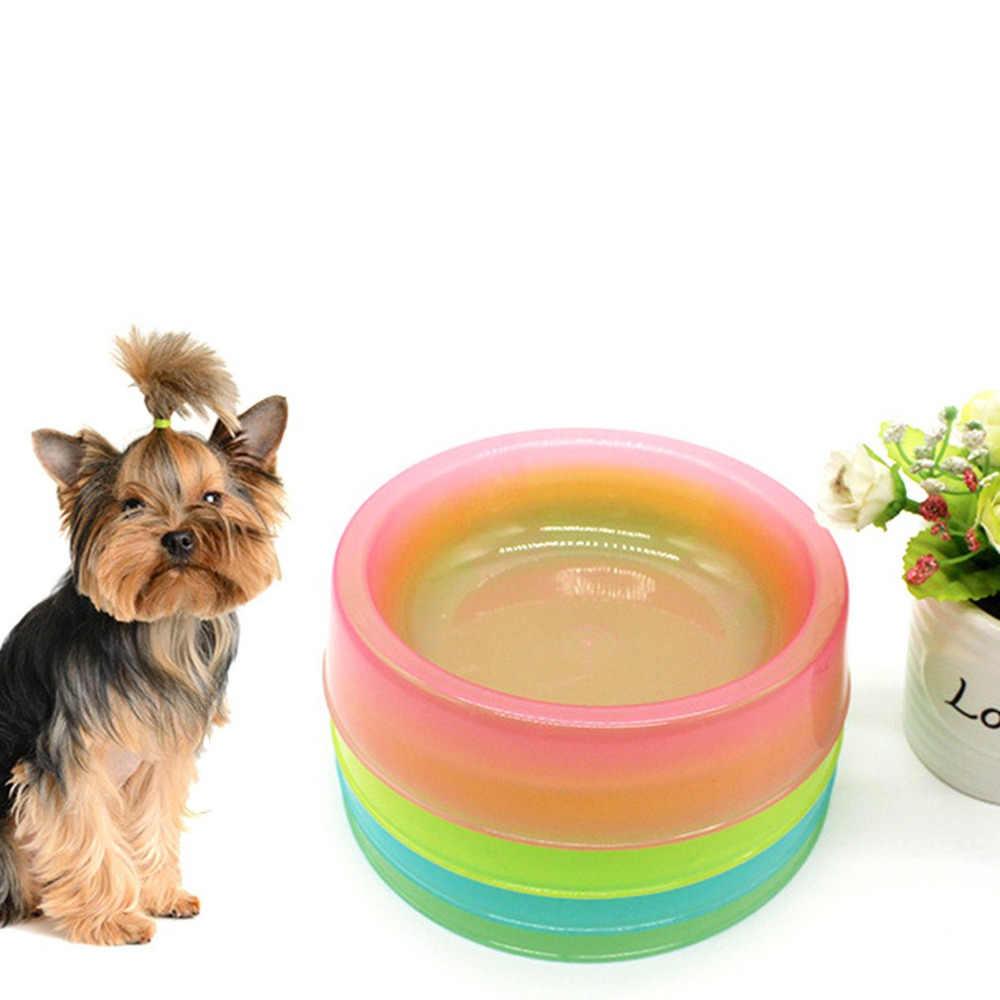 Şeker plastik evcil hayvan yemliği Kase Anti Kayma besleme kasesi evcil hayvan yem kabı Tepsi Pet Malzemeleri Kediler Köpekler için