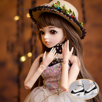 cateleya BJD Doll Toy Simulation Girl SD Doll 60 cm Princess Toy Birthday Gift for Children