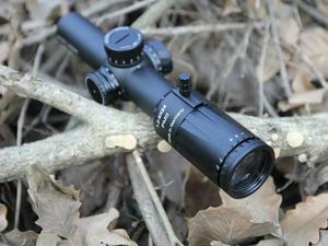 Image 3 - شميت بندر جديد 1.2 6x24 30 مللي متر أنبوب قطر قصير Riflescope مضيئة الصيد نطاق مع الزجاج تعزيز شبكاني التركيز السريع