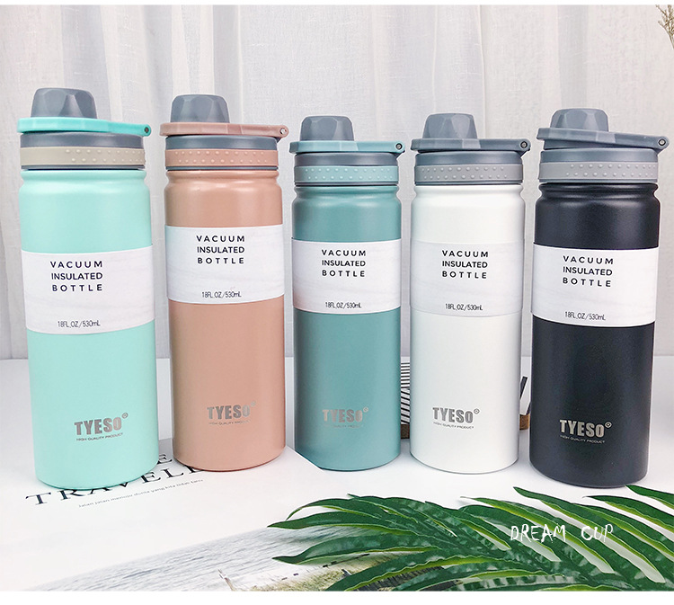 H9693e2d4268343869d8de95a9eeec11eO - Thermoflask flask with drinking pouch (530ml)
