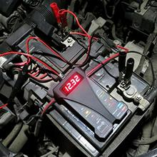 Автомобильный аккумулятор 12 В для мотоциклов, автомобильный аккумулятор, тестер, 8 светодиодный индикатор, цифровой генератор, тестер, автоматический анализатор нагрузки, автомобильные аксессуары