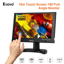 "EYOYO EM10G 10"" IPS LCD Touch Screen Moniteur 1920x1200 BNC CCTV Monitor 16:10 With HDMI VGA AV USB for Security Camera DVD FPV(China)"
