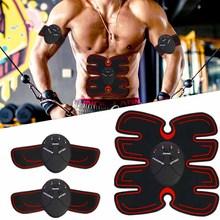 Electrostimulation Abdominal Muscle Stimulator EMS Trainer Vibration Exercise Massager Toning Belt Abdomen Gym Workout Equipment