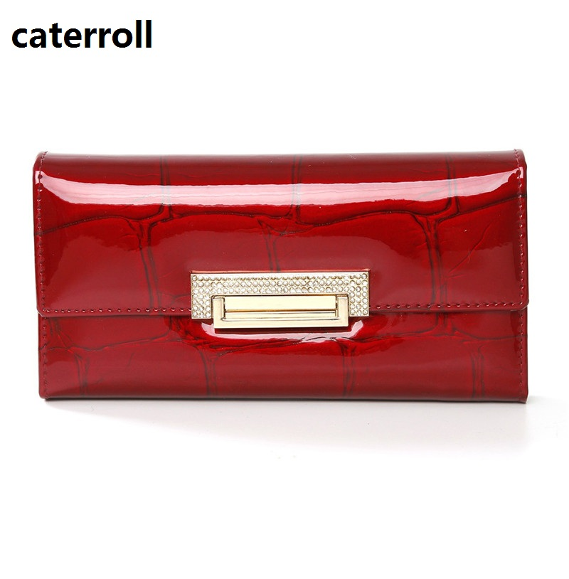 Genuine Leather Wallet Women Long Lady Purse Brand Female Wallets Luxury Designer Real Leather Money Bag