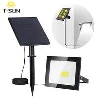 T SUN COB Solar Lamp Wall Lamp Waterproof Outdoor Path Night Lighting Solar Garden Light Solar Powered Spotlights Emergency