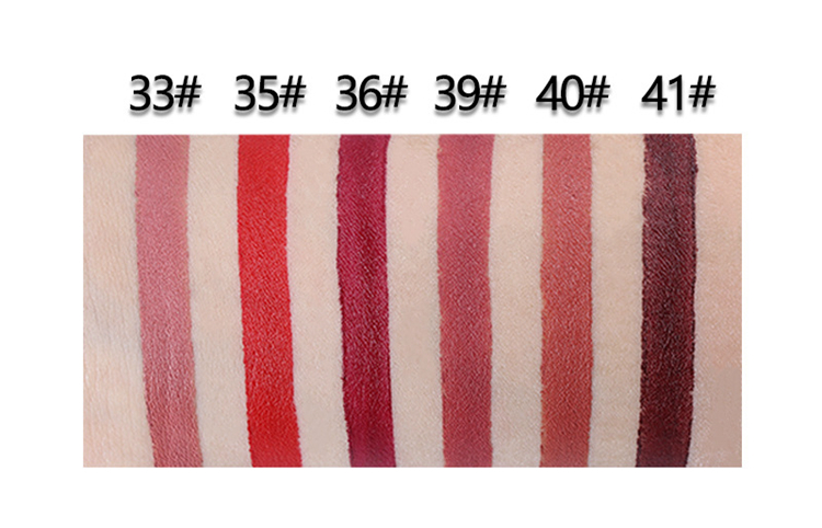 14 Color Double-end Lip Makeup Lipstick Pencil Waterproof Long Lasting Tint Sexy Red Lip Stick Beauty Matte Liner Pen Lipstick (5)