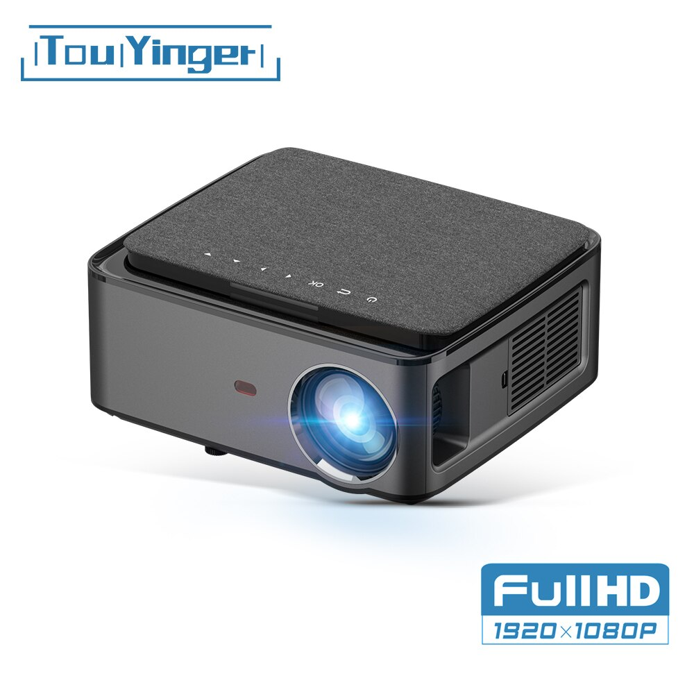 Touyinger RD828 1080P Full HD Projector WIFI Multiscreen Projetor 1920 x 1080P SmartPhone Beamer 3D Home Theater Video Cinema