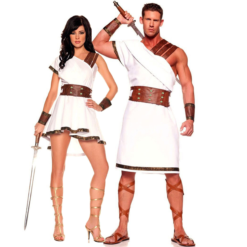 Halloween Adult Greek Mythology Couple Costume