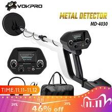 MD 4030 Metall Detektor Unterirdischen Gold Detektor Metall Länge Einstellbare Schatz Hunter Seeker Portable Hunter Detektor