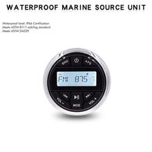 Waterproof Marine Bluetooth Stereo Boat Radio FM AM Receiver Digital Media Audio Car MP3 Player For ATV UTV SPA Yacht Motorcycle