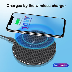 Image 4 - 10W Fast Qi Wireless Charger For Samsung S10 S9 Plus Note 8 9 Wireless Charging Pad For iPhone XR 11 Pro Max X XS USB Chargers