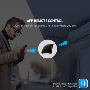 Image 5 - Broadlink RM4 Pro Smart Remote Controller WiFi IR RF Work With Alexa Google Home Mini HTS2 Tempetature Humidity Sensor Detector