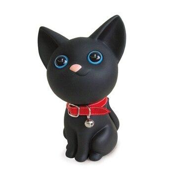 Hucha Gato Lindo Negro.