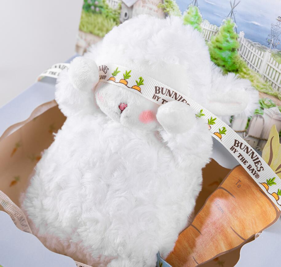 2020 Net Red Explosion Models Bunnies Lamb Doll Soothes Plush Toy Rag Doll