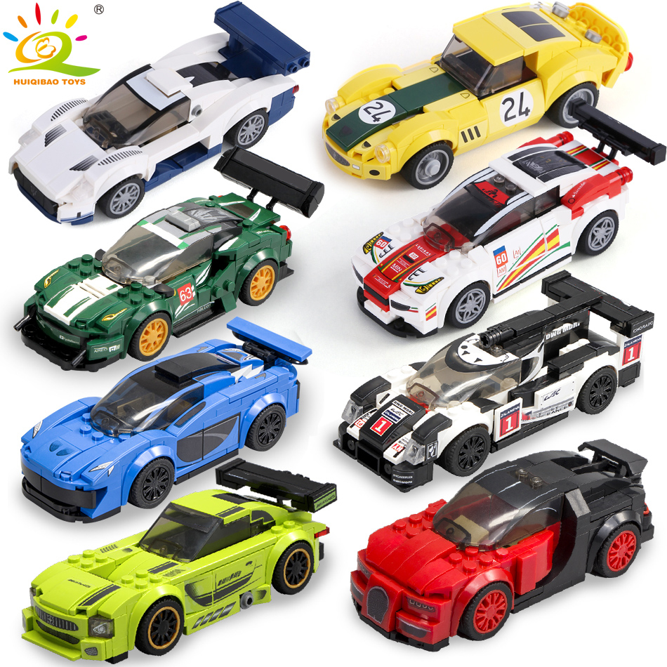 Legoingly Speed Champions City Super Racers Model Building Blocks Racing Sport Auto Car Bricks Construction Toys For Children
