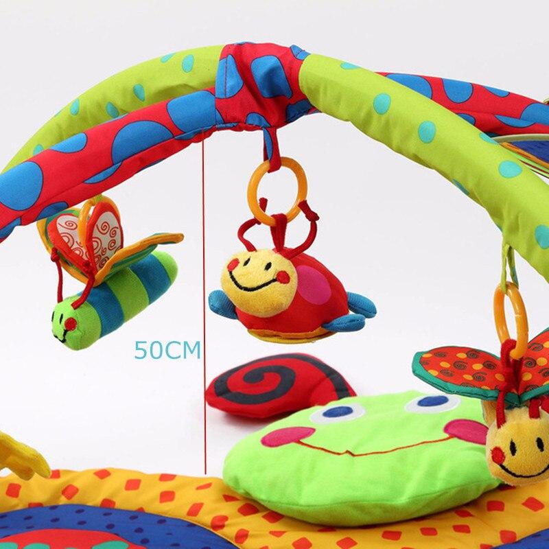 Tapis de jeu pour bébé jouets cadeau jouer tapis de gymnastique doux tapis de sol pour bébé 3D activité tapis de jeu tapis rampant enfants tapis jouet éducatif - 4