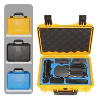 Tüketici Elektroniği'ten Drone Çantaları'de Su geçirmez yağmur geçirmez dayanıklı bavul lüks ABS + EVA plastik kutu DJI Mavic Pro Drone için koruyucu sert kılıf