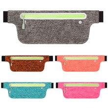 Unisex Waist Pack Waterproof Fanny Bag Adjustable Belt Phone Pouch for Sports Running Gym GV99 недорого