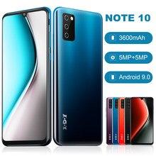 XGODY – téléphone portable Note 10, écran Waterdrop de 7.2 pouces, Smartphone 4G, Android 9.0, mémoire de 2GB et 16GB, Quad Core, batterie de 3600mAh, caméra de 5mp, double SIM