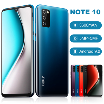 "XGODY 7.2"" 4G Smartphone Android 9.0 Waterdrop Dual SIM Mobile Phone 2GB 16GB Quad Core 3600mAh 5MP Camera Cell Phone Note 10"