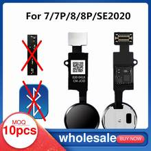 10pcs 6th Generation JC Home Button For iPhone 7 8 Plus SE 2020 7P 8P Return Function Solution No Touch ID Bluetooth Short Flex
