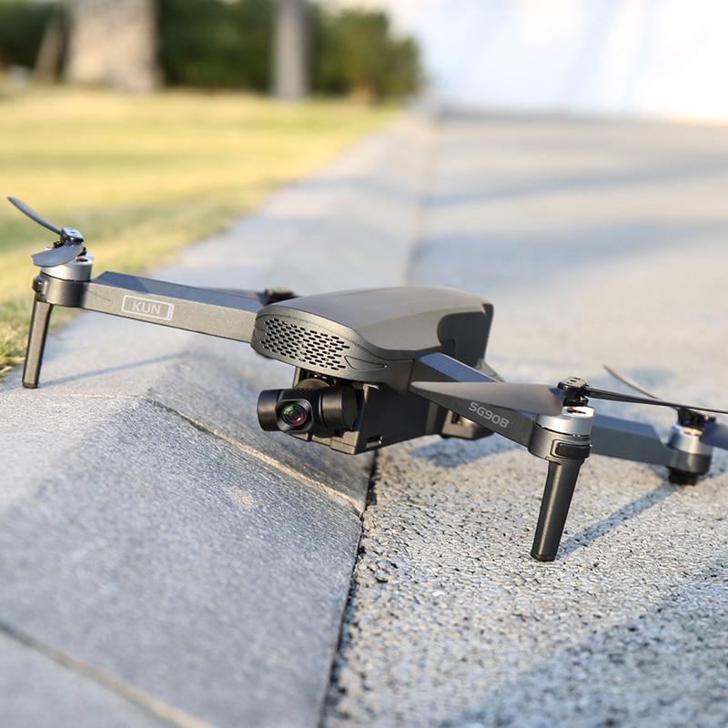 SG908 2021 новые трехосный карданный подвес, беспилотные летательные аппараты с 4K Профессиональный Камера 5G GPS WI-FI FPV Дрон с бесщеточным двигателем Квадрокоптер с дистанционным управлением PKSG907 5