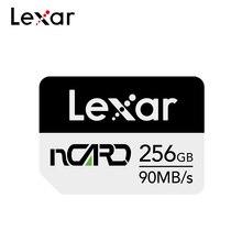 Нано-карта памяти Lexar 256 ГБ, 128 ГБ, 64 ГБ, высокоскоростная флеш-карта памяти для телефона, 100% Оригинальная карта памяти NM для Huawei P40 Mate 30 pro