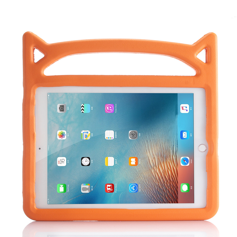 Beige Beige for iPad Air 4 Case 2020 A2316 A2324 EVA Safe Kids Handle Stand Tablet Case Cover