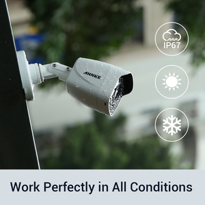 Image 5 - ANNKE 4K Ultra HD 8CH DVR Kit H.265+ CCTV Camera Security System 8PCS 8MP IR Outdoor Night Vision Video Surveillance Camera Kits