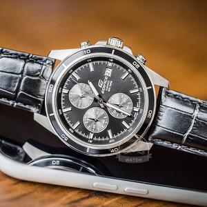 Image 3 - Casio watch Edifice watch men brand luxury quartz Waterproof Chronograph men watch racing Sport military Watch relogio masculino