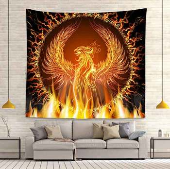 Simsant Psychedelic Shrooms Tapestry Colorful Abstract Trippy Tapestry Wall Hanging Tapestries for Home Dorm Fantasy Decor 21