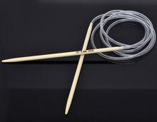 1 шт bamboo 120 см Набор круглых крючков для вязания крючком
