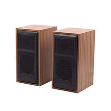 portable Mini Wooden Computer Speakers USB Wired speaker stereo music player Subwoofer sound box for PC Laptops phones(China)