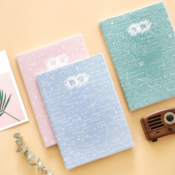Simple Cute Flower B5 Notebook Weekly Planner Multicolor Curriculum Schedule Book Diary School Office Supplies Kawaii Stationery