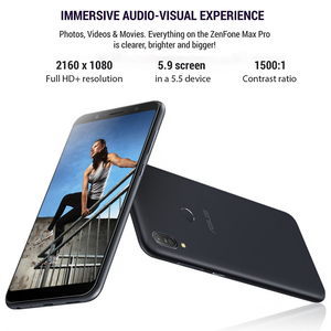 Image 4 - الإصدار العالمي من الهاتف الذكي Asus ZenFone Max Pro (M1) ZB602KL ذاكرة وصول عشوائي 4 جيجا بايت وذاكرة قراءة فقط 64 جيجا بايت هاتف ذكي 18:9 FHD 5000mAh Snapdragon 636 أندرويد
