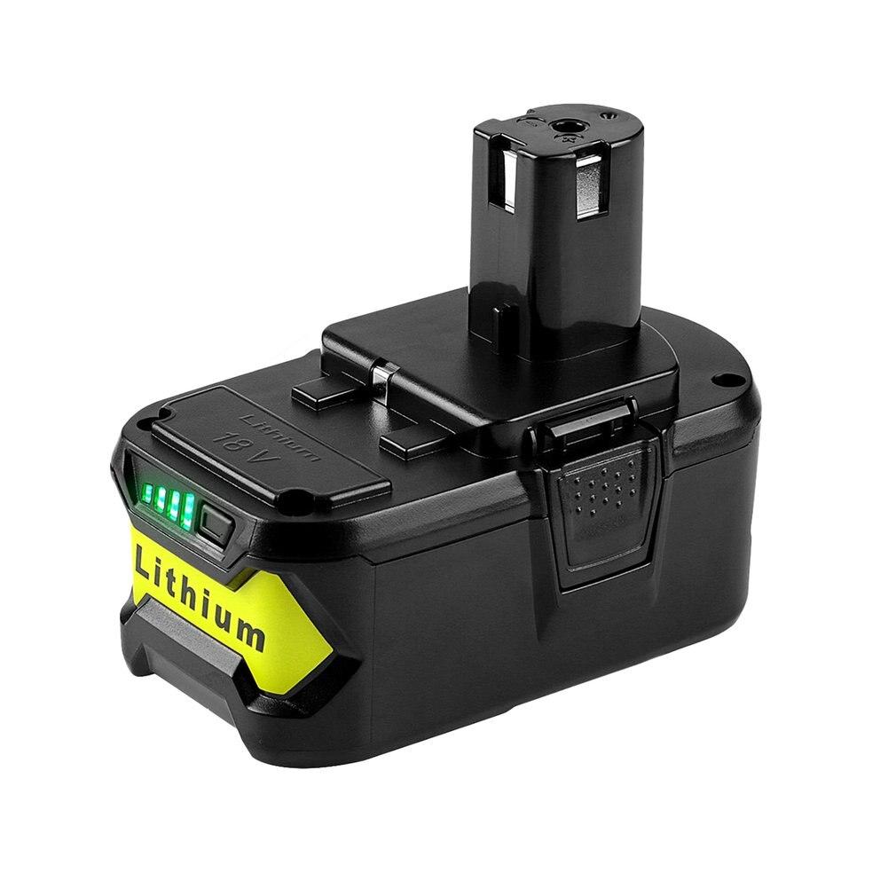 Batterie Rechargeable Portable 18V batterie de remplacement Lithium-Ion 4000mAh batterie d'outils électriques pour Ryobi ONE +