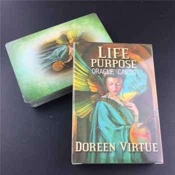 Tarot Cards Life Purpose Oracle Card Full English Party Deck Game Supplies Life Purpose Oracle Cards With Guidebook 2
