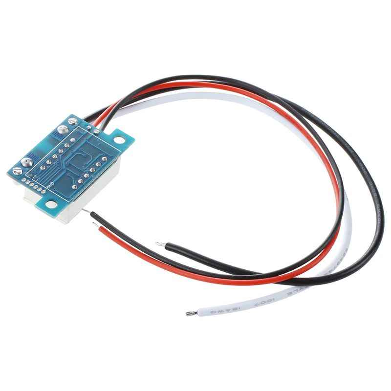 BMBY-DC 0-10A ampères LED ampères panneau mètres 3 bits affichage pas besoin d'ampèremètre numérique Shunt