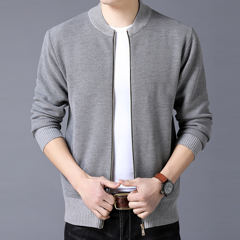 New 2019 Men's Autumn/winter Sweater Youth Joker Cardigan Sweater Fashion And Personality