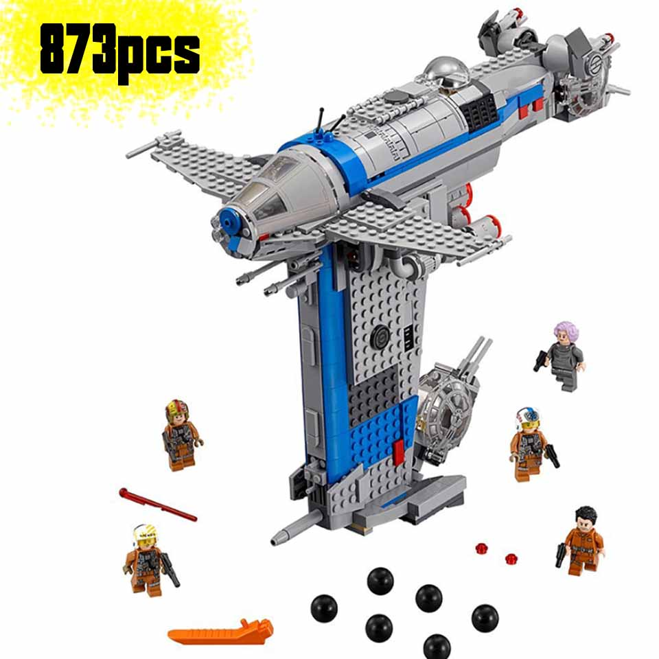 05129 Star Plan Wars Series The <font><b>75188</b></font> Resistance Bomber Set Building Blocks Bricks Kids compatible Legoinglys Toys Gifts image