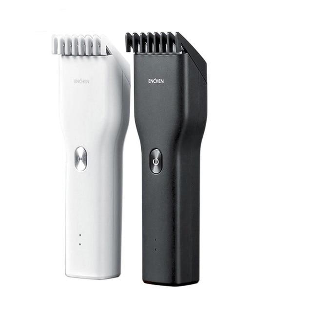 Enchen cortadora de pelo eléctrica para niños, cortadora de pelo de cerámica de dos velocidades con Carga rápida por USB
