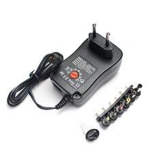 AC/DC 3V 6V 9V 12 V regulowany zasilacz 2A 30W 220V do 3V 6V 9V 12 V zasilacz USB 5 12 V uniwersalny do lampy Led